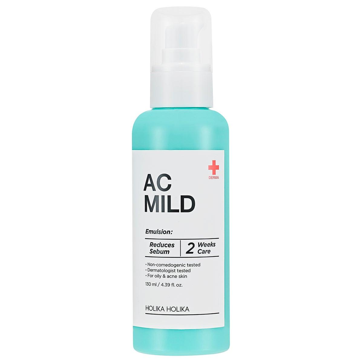 AC MILD Emulsion, 130 ml Holika Holika Dagkräm