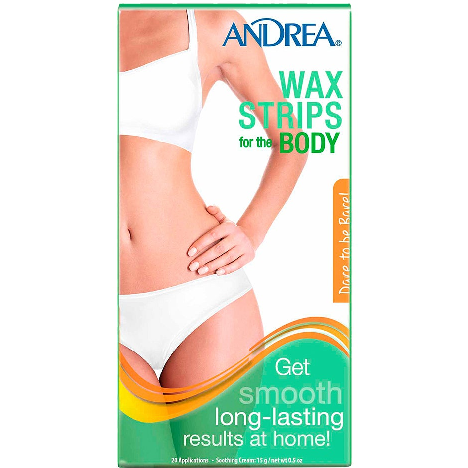 Wax Strips Body, Andrea Hårborttagningsvax & Brazilian wax