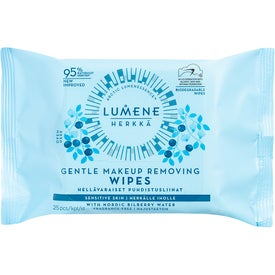 Lumene HERKKÄ Gentle Makeup Removing Wipes
