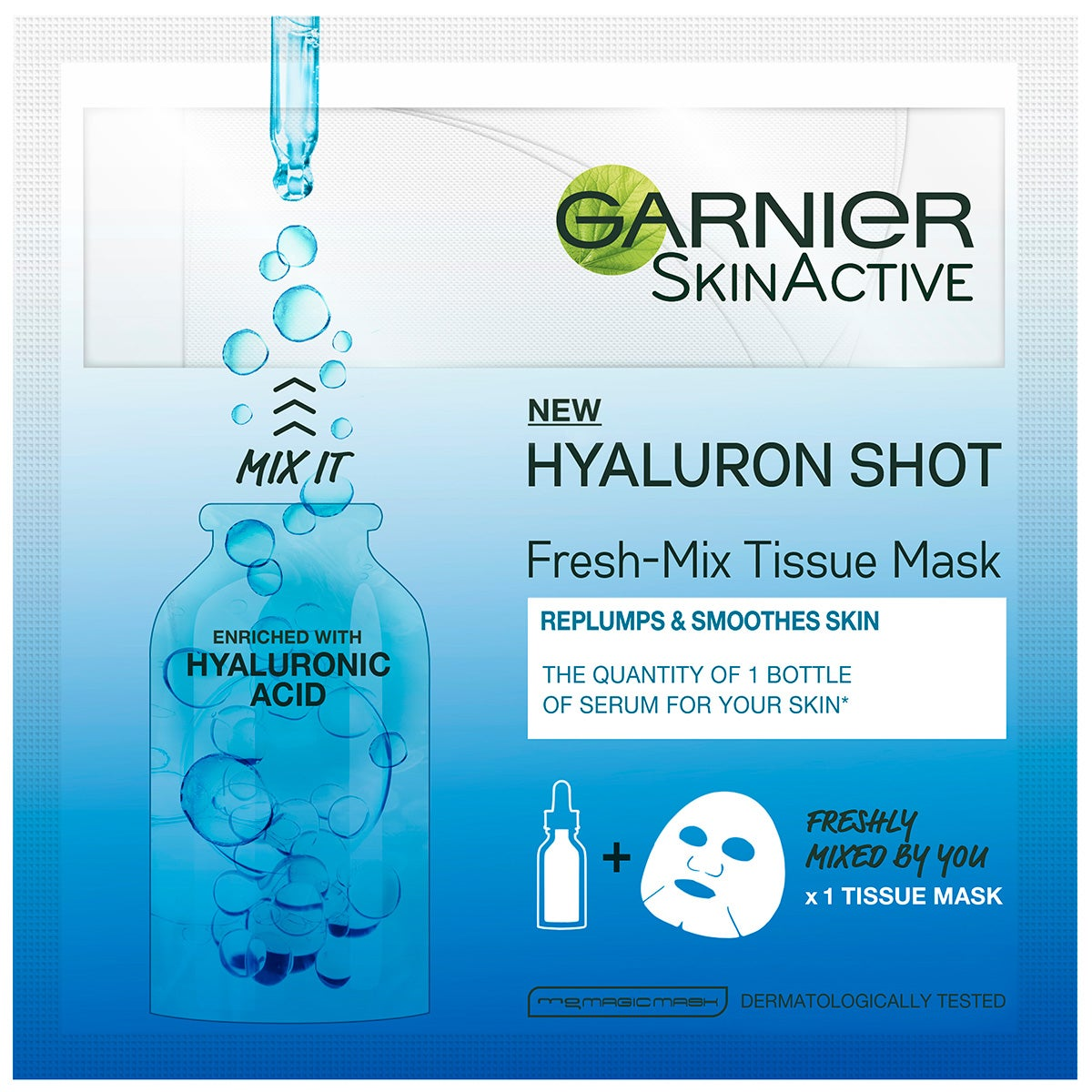 Garnier SkinActive Fresh-Mix Sheet Mask Hyaluronic Acid