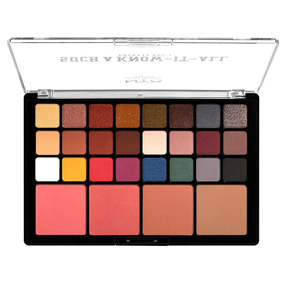 Such A Know It Shadow Palette, 1,2 g NYX Professional Makeup Ögonskuggspalett