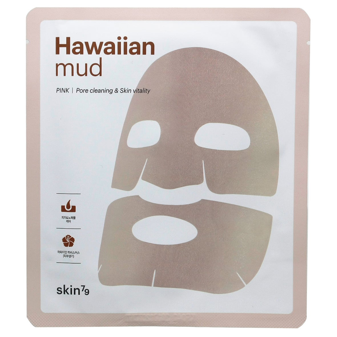 Skin79 Hawaiian Mud Sheet Mask, Pink