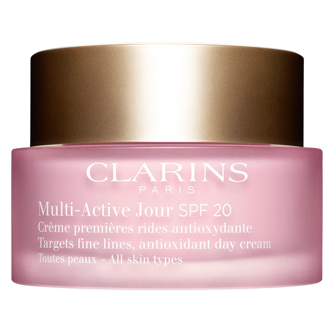Multi-Active Jour SPF 20 for All Skin Types, 50 ml Clarins Dagkräm