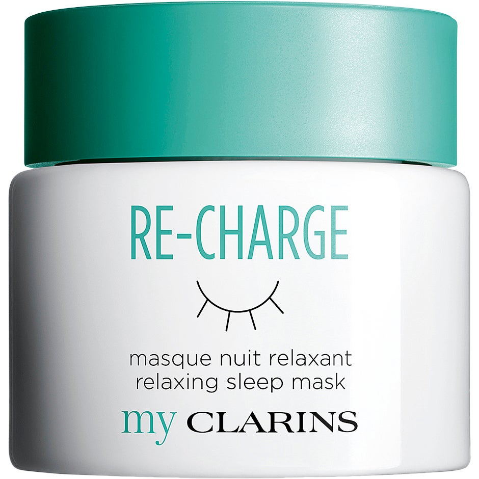 My Clarins Re-Charge Relaxing Sleep Mask, 50 ml My Clarins Ansiktsmask