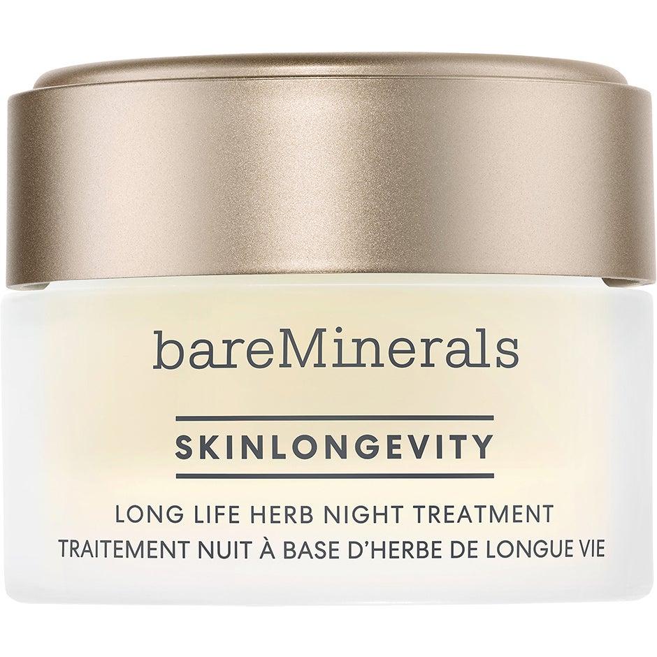 Skinlongevity Long Life Herb Night Treatment, 50 g bareMinerals Nattkräm