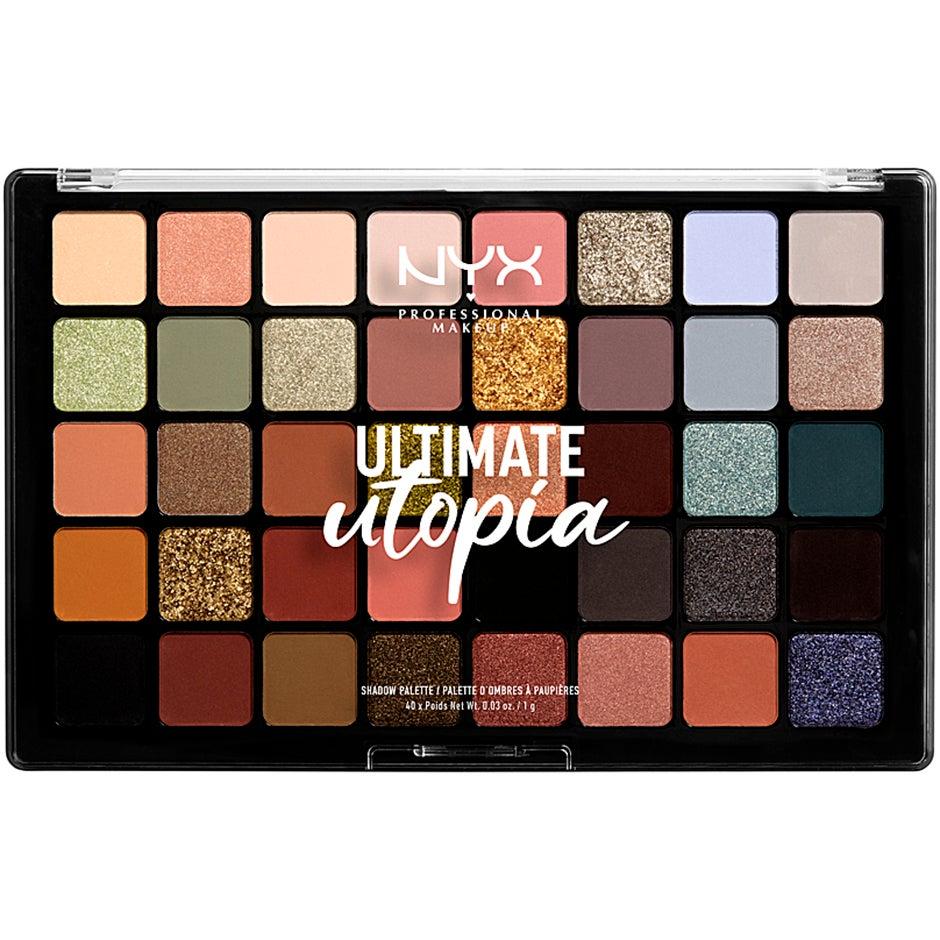 Ultimate utopia Shadow Palette 40,  NYX Professional Makeup Ögonskuggspalett