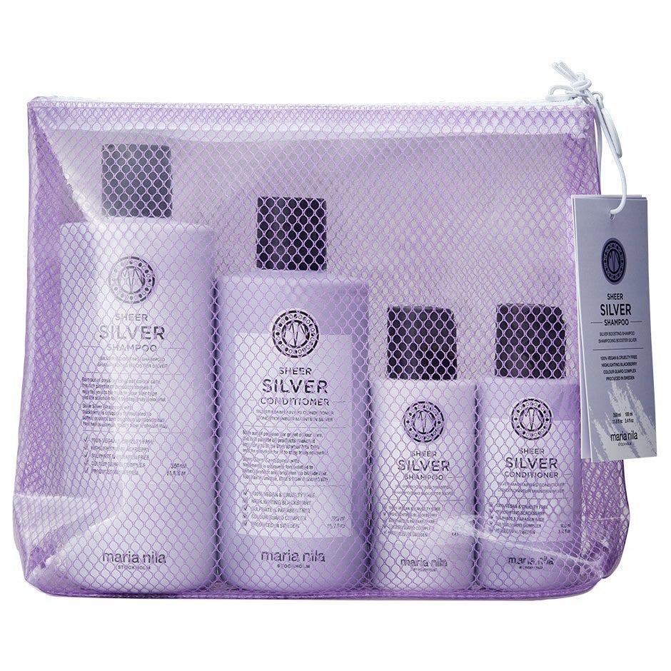 Sheer Silver Beauty Bag ,  Maria Nila Paket