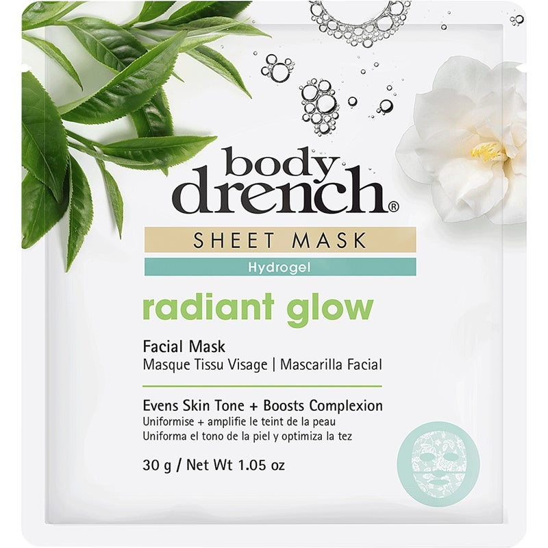 Sheet Mask Radiant Glow White Lace Hydrogel