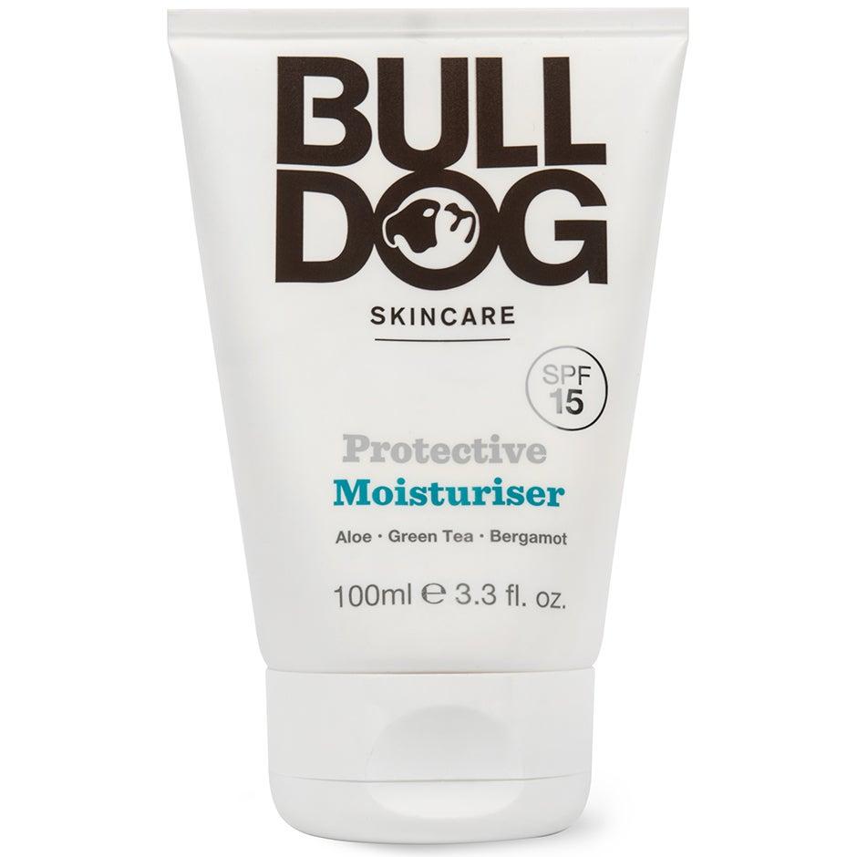 Köp Bulldog Protective Moisturiser, 100ml Bulldog Dagkräm fraktfritt