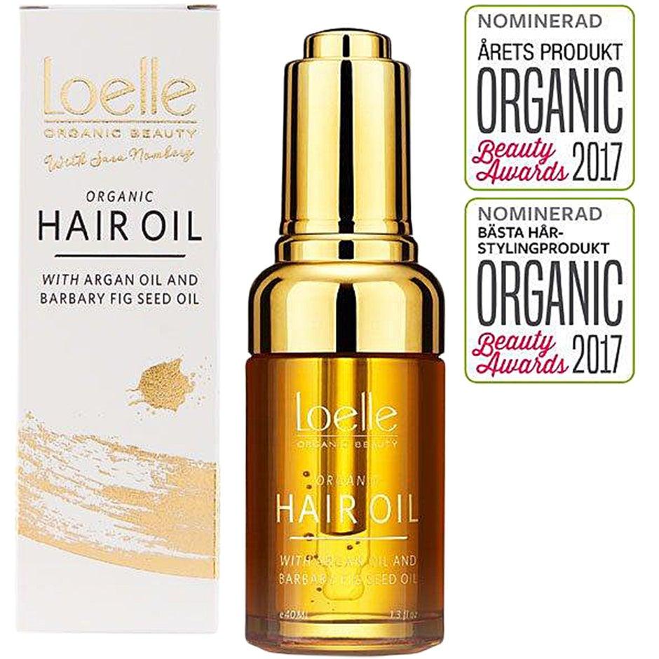 Barbary Fig Seed Oil, Hair Oil,  40 ml Loelle Serum & hårolja