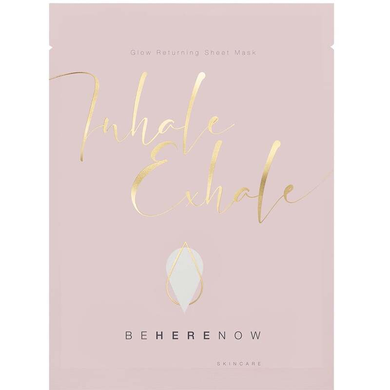 Be Here Now Skincare Inhale, Exhale - Glow Returning Sheet Mask