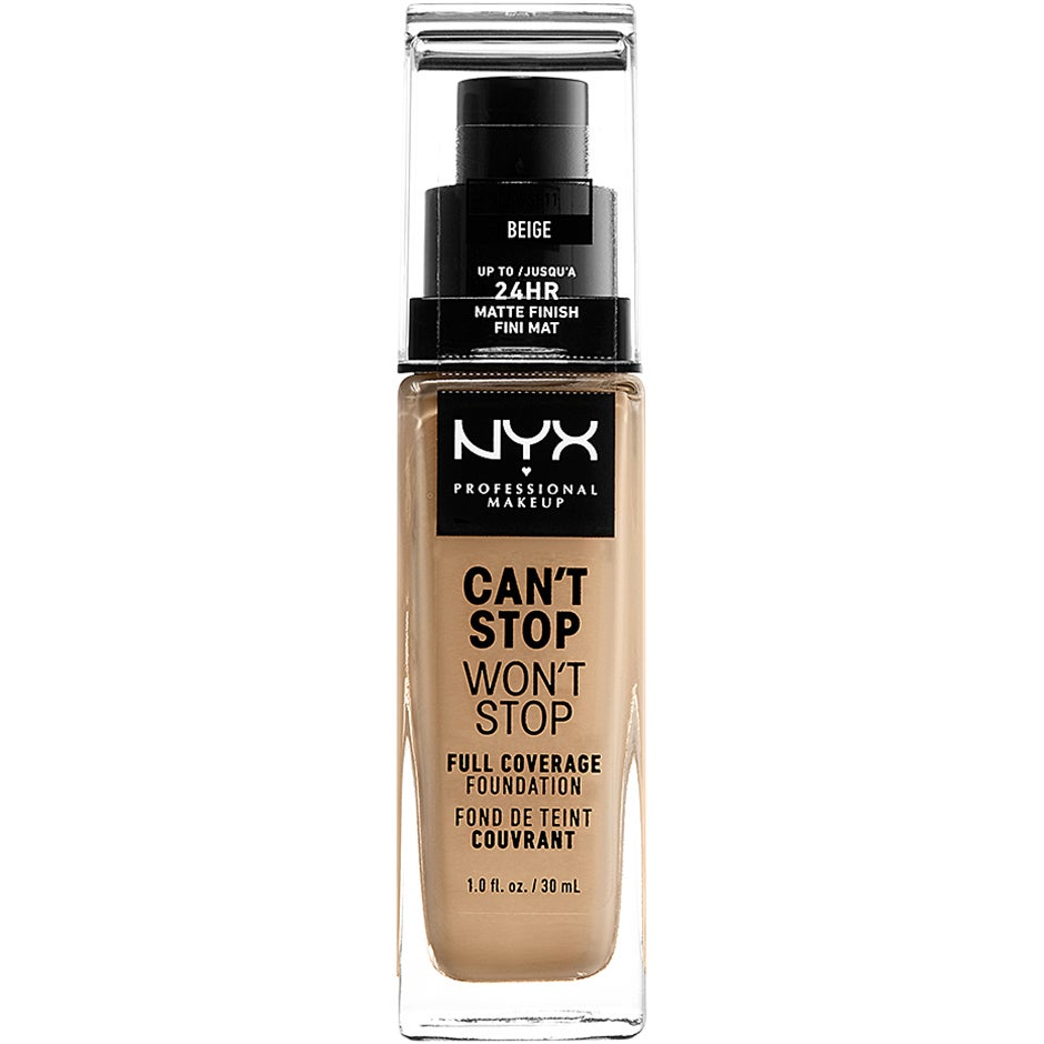 Can't Stop Won't Stop Foundation NYX Professional Makeup Foundation