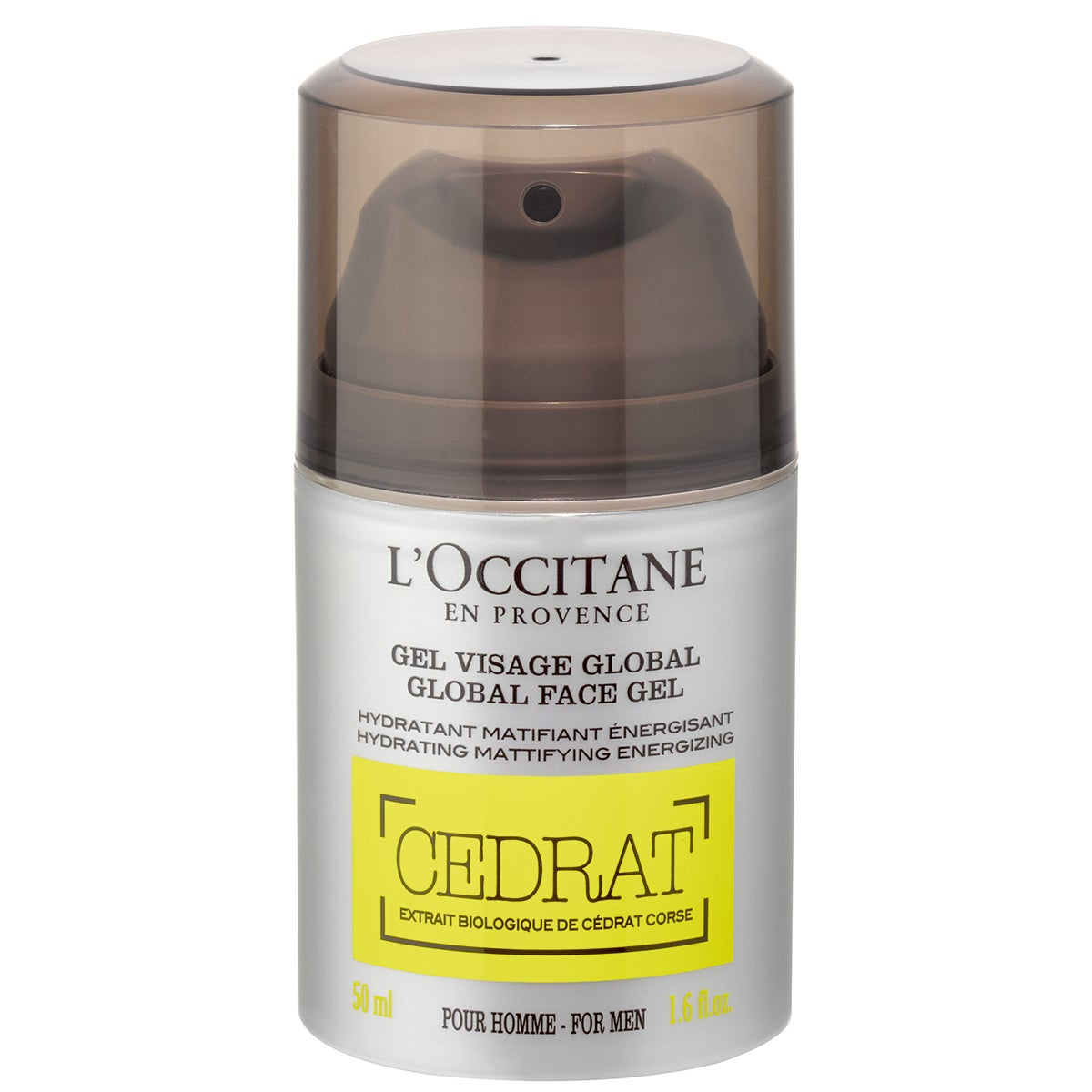 Köp CEDRAT Global Face Gel,  50 ml L'Occitane Dagkräm fraktfritt
