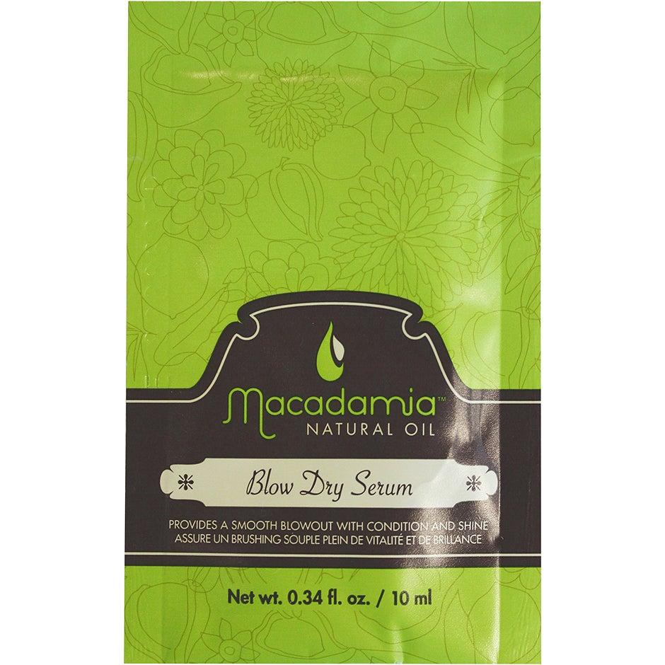 Blow Dry Serum, 10 ml Macadamia Serum & hårolja