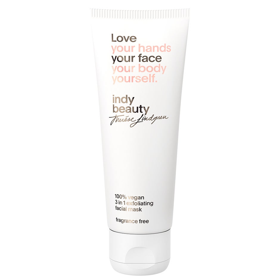 3 in 1 exfoliating facial mask, 75 ml Indy Beauty Ansiktsmask