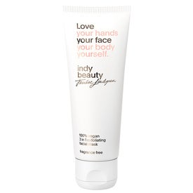 Indy Beauty 3 in 1 exfoliating facial mask