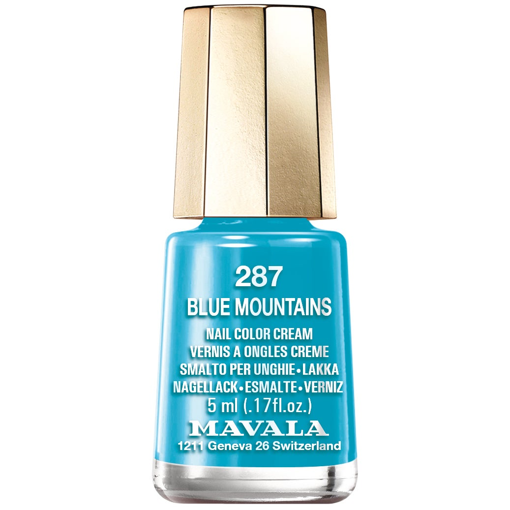 Köp Nail Color Cream, 287 Blue Mountains,  5 ml Mavala Nagellack fraktfritt