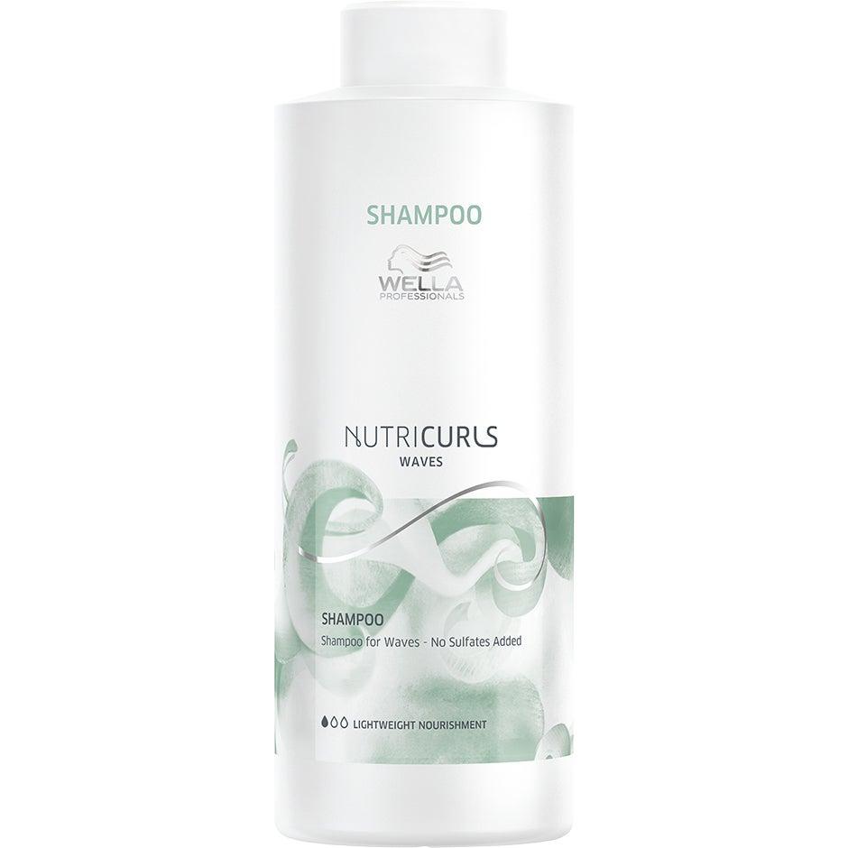 NUTRICURLS, 1000 ml Wella Shampoo
