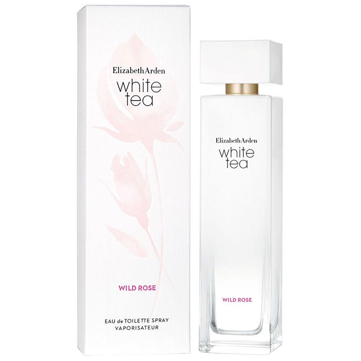 Köp White Tea Wild Rose, EdT 100 ml Elizabeth Arden Parfym fraktfritt