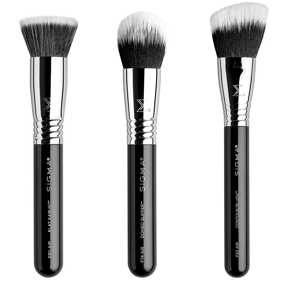 Complexion Air Brush Set,  Sigma Beauty Borstar & Penslar