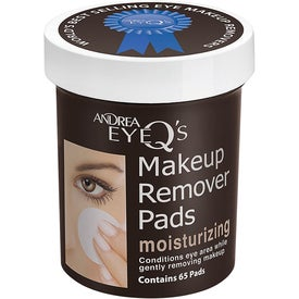 Andrea EyeQ Makeup Remover Pads Moisturizing