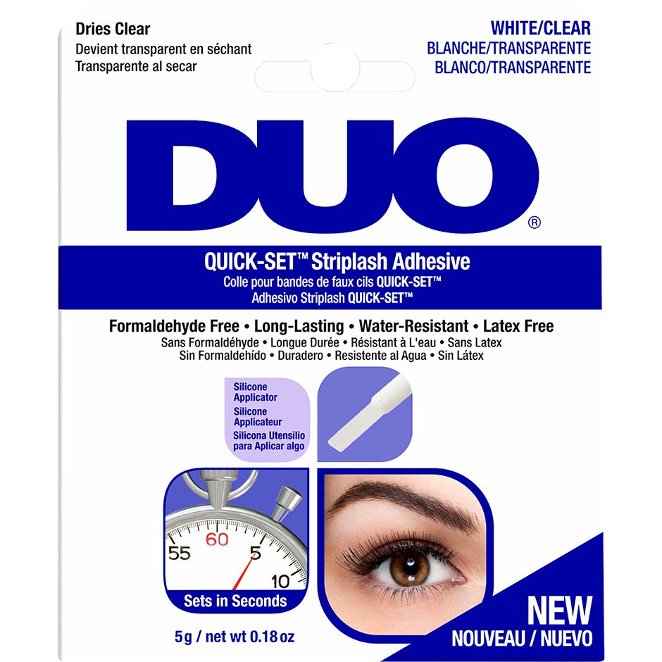 DUO Quick-set Brush-on Adhesive Clear, 5 g Andrea Lösögonfransar