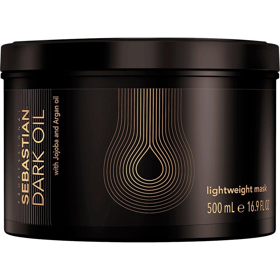 Dark Oil Lightweight Hair Mask, 500 ml Sebastian Hårinpackning