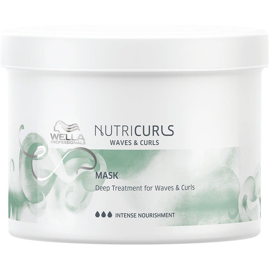 Köp NUTRICURLS, Deep Treatment for Waves & Curls 500 ml Wella Serum & hårolja fraktfritt