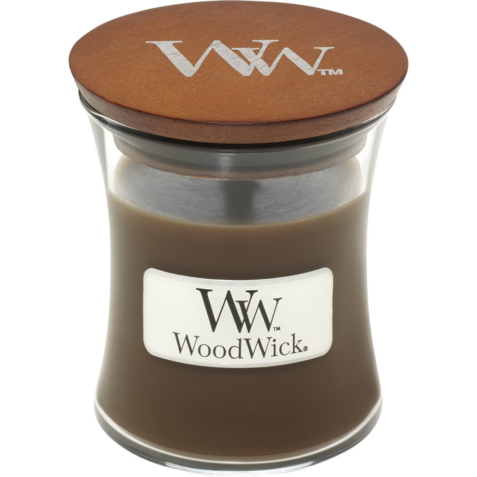Amber & Incense, WoodWick Doftljus thumbnail