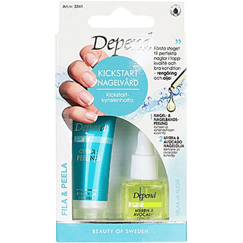 Depend Kick Start Nail Care
