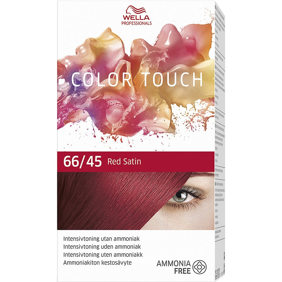 Wella Professionals Care Color Touch Vibrant Red 66/45, Wella Toning