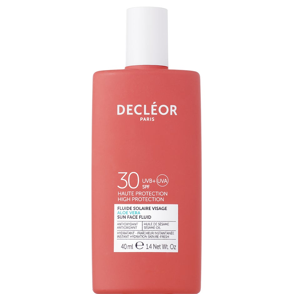 Aloe Vera Sun Face Fluid, 40 ml Decléor Solskydd