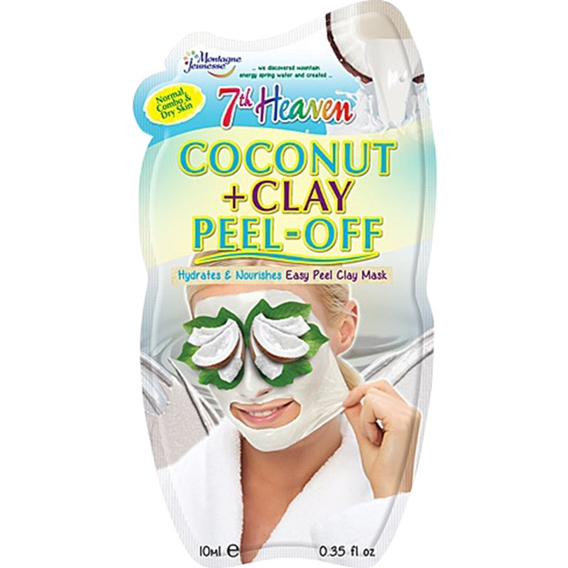 7th Heaven Coconut and Clay Peel Off Mask