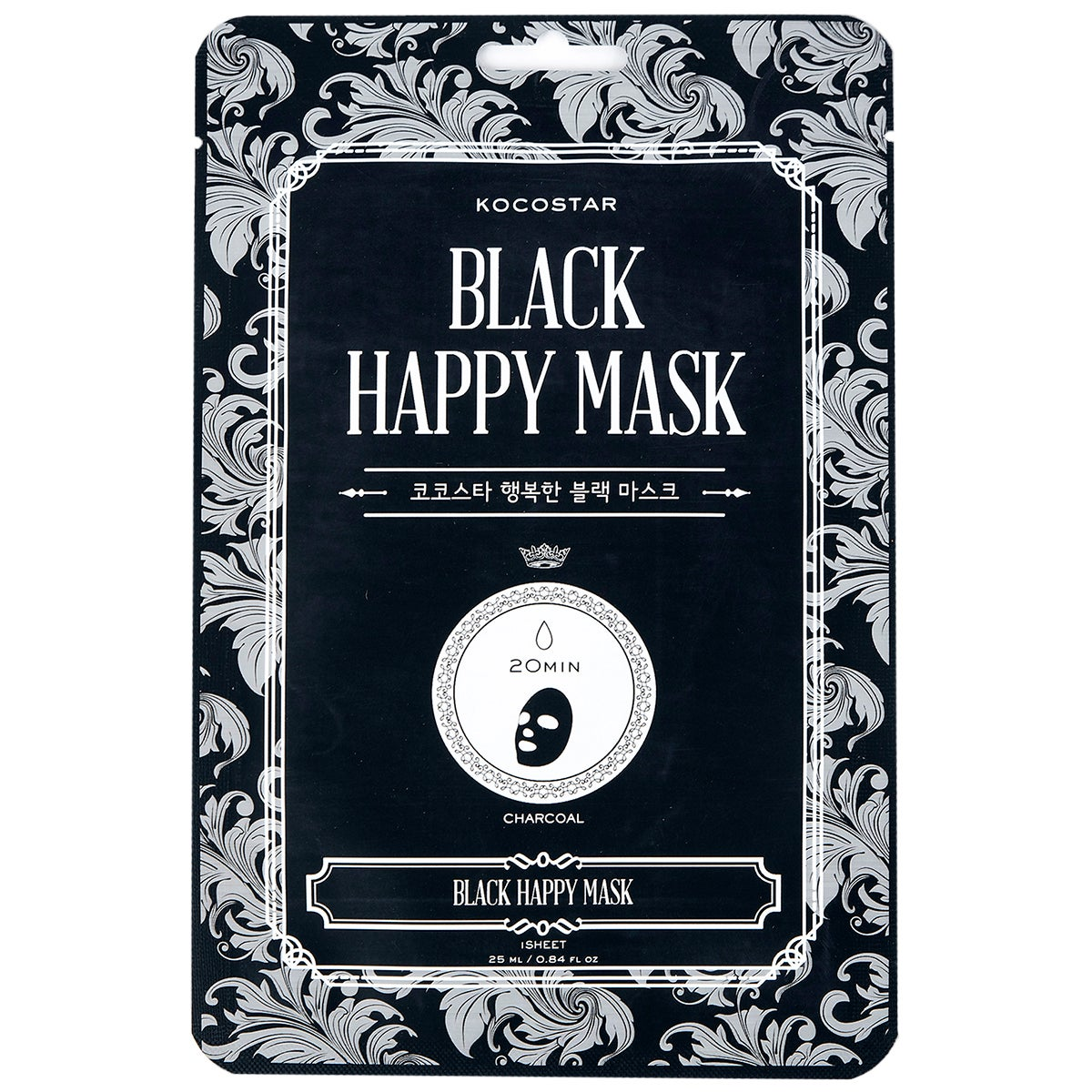 Kocostar KOCOSTAR Black Happy Mask
