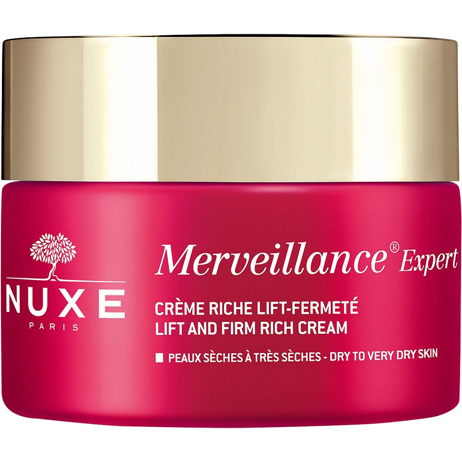 NUXE Merveillance Expert Lift and Firm Rich Cream for Dry/Very Dry Skin, 50ml Nuxe Dagkräm