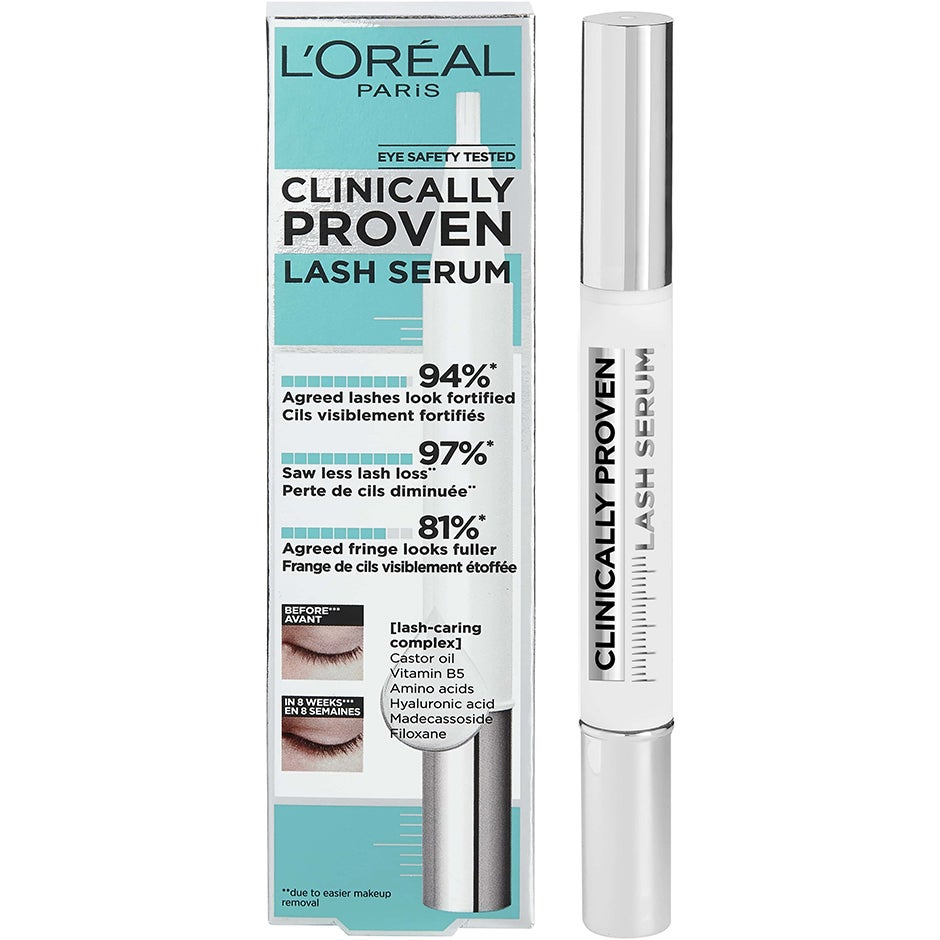 Clinically Proven Lash Serum, Universel 1,9 ml L'Oréal Paris Bryn- & Ögonfransserum