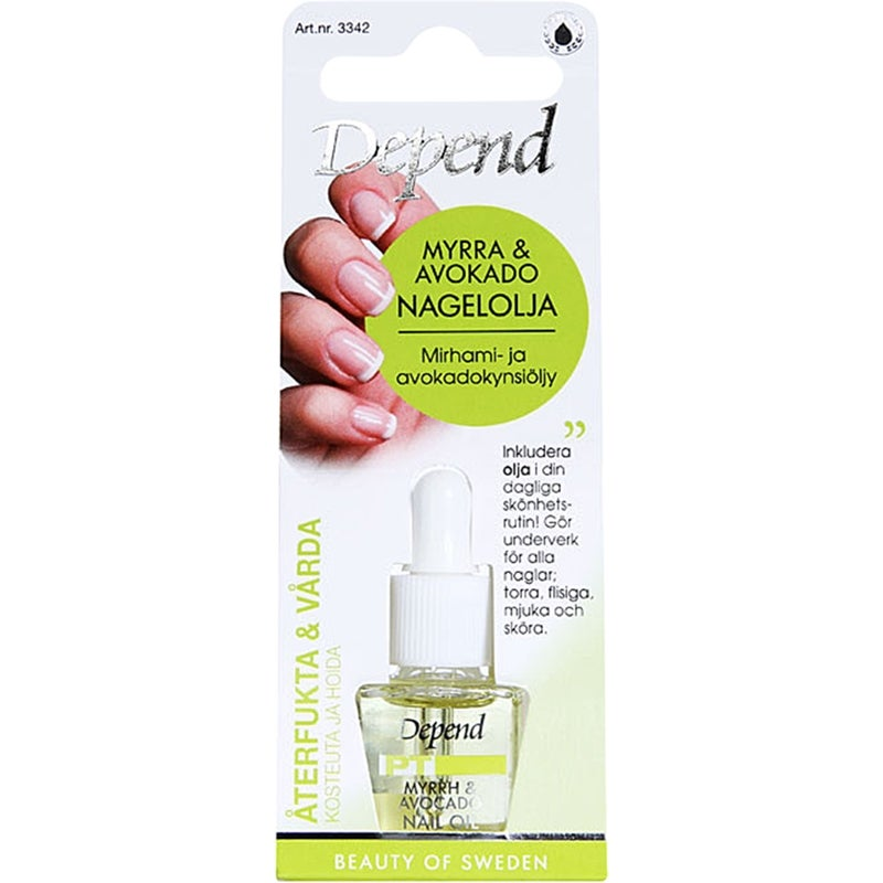 Depend Myrrh & Avocado Nail Oil