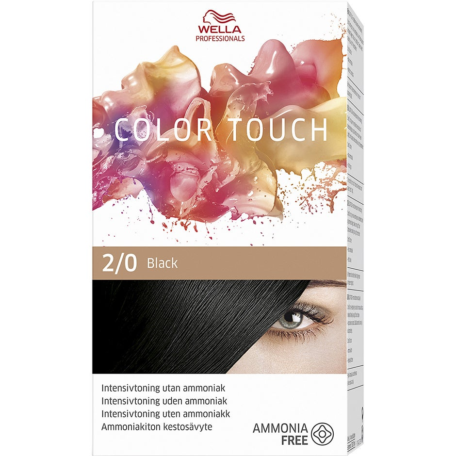 Wella Professionals Care Pure Naturals Color Touch 2/0, Wella Toning