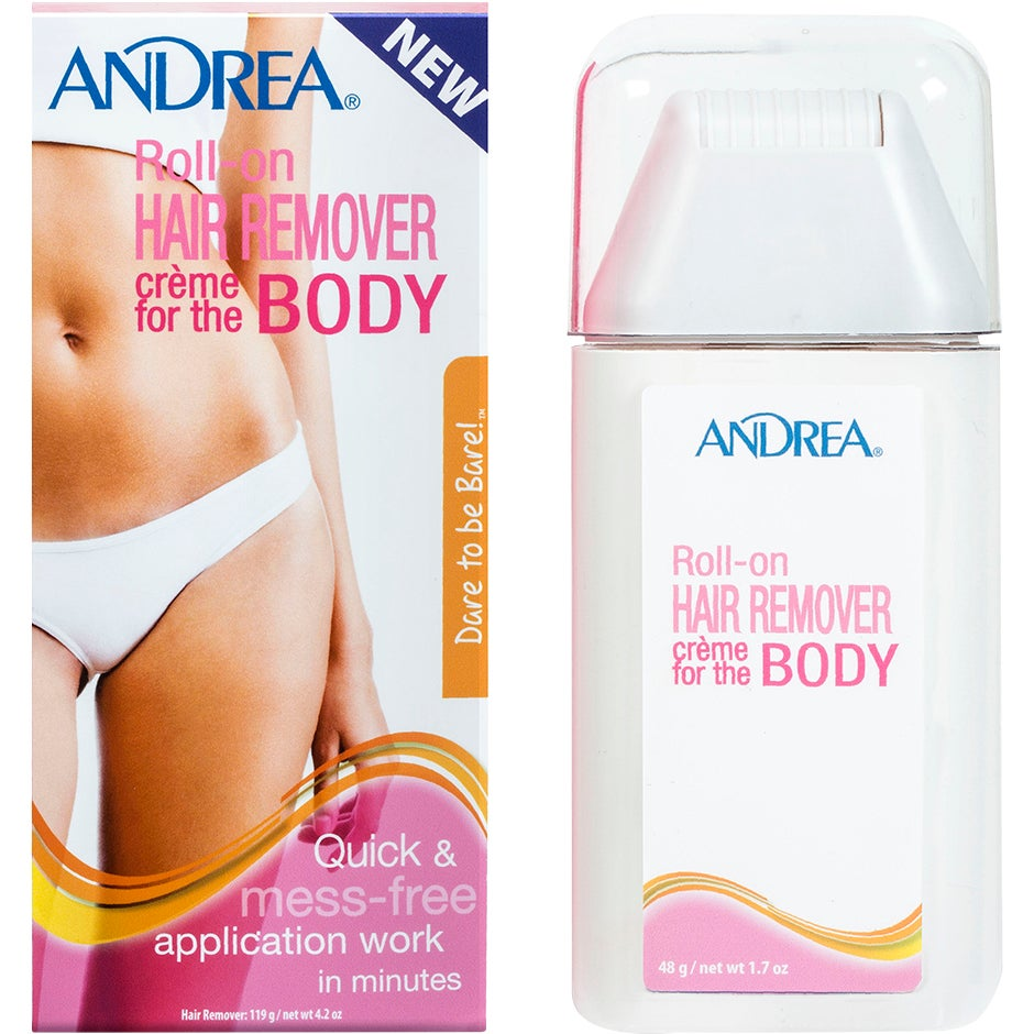 Roll-on Hair Remover Creme Body, 119 g Andrea Hårborttagningsvax & Brazilian wax