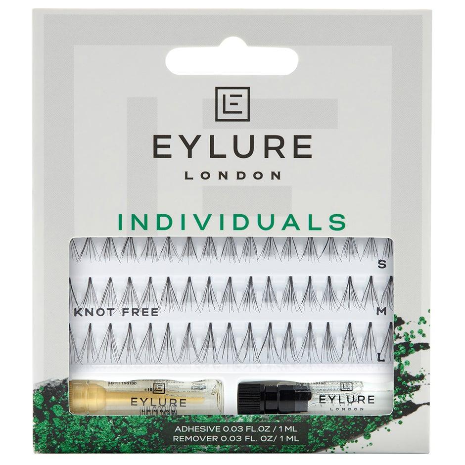 Eylure Pro-Lash Individuals, Short Medium & Long Length Ultra Natural, Knot Free. Short, Medium & Long Lenght Eylure Lösögonfransar