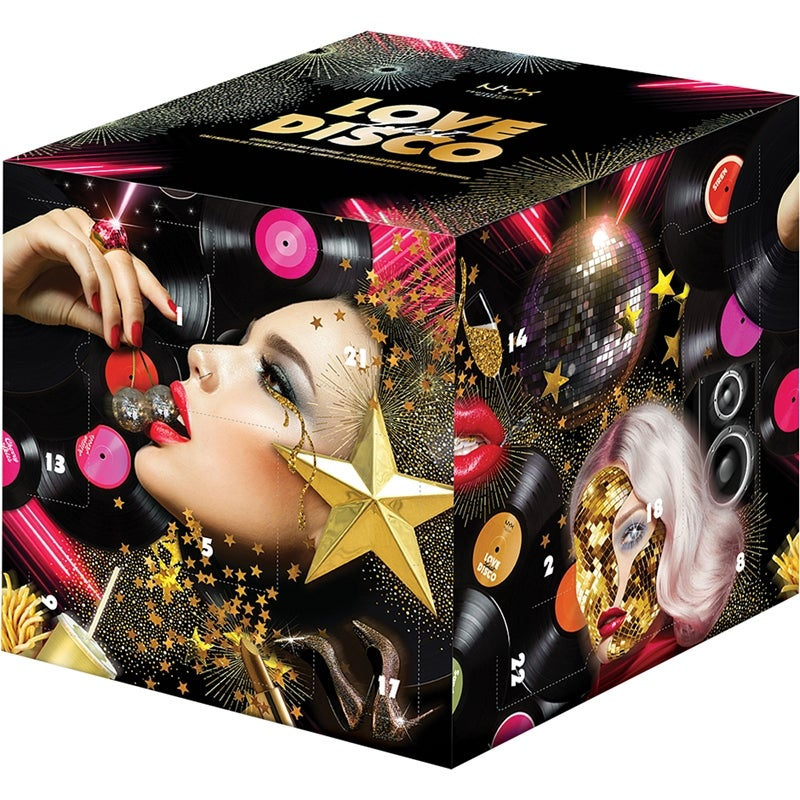NYX Professional Makeup Love Lust Disco 24 Days Advent Calender