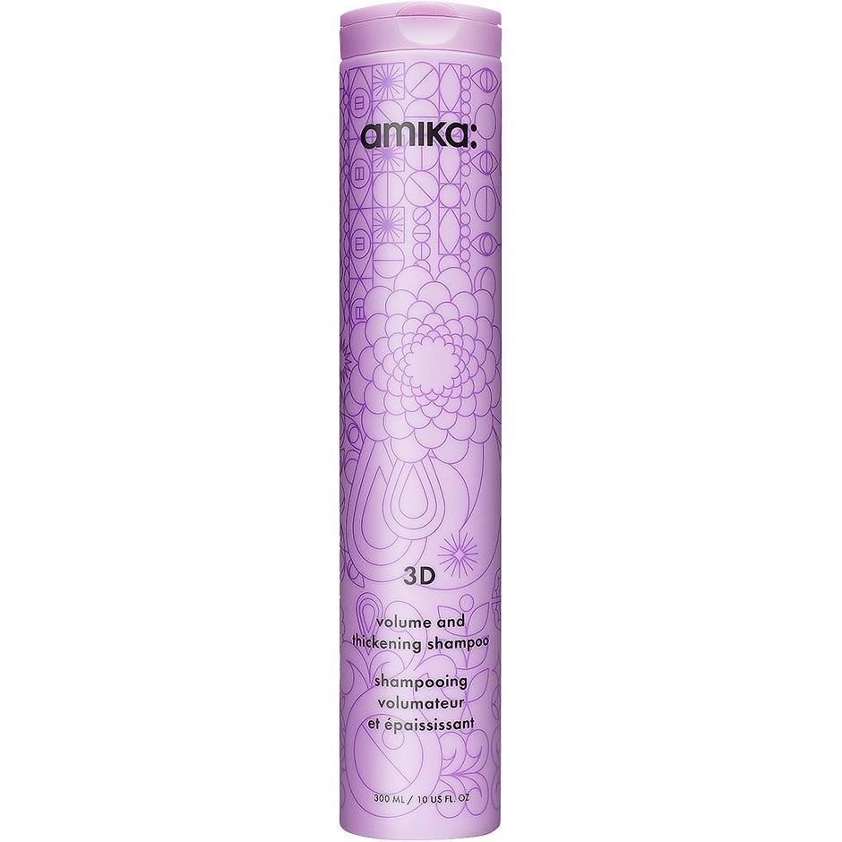 3D Volumizing and Thickening Shampoo, 300 ml Amika Shampoo