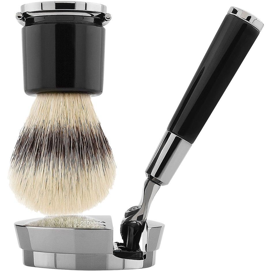 Barbiere, Deluxe Shaving Set Black Acqua Di Parma Rakhyvel & Rakblad