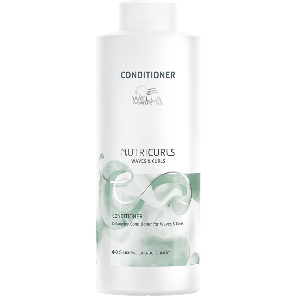 NUTRICURLS, 1000 ml Wella Conditioner - Balsam