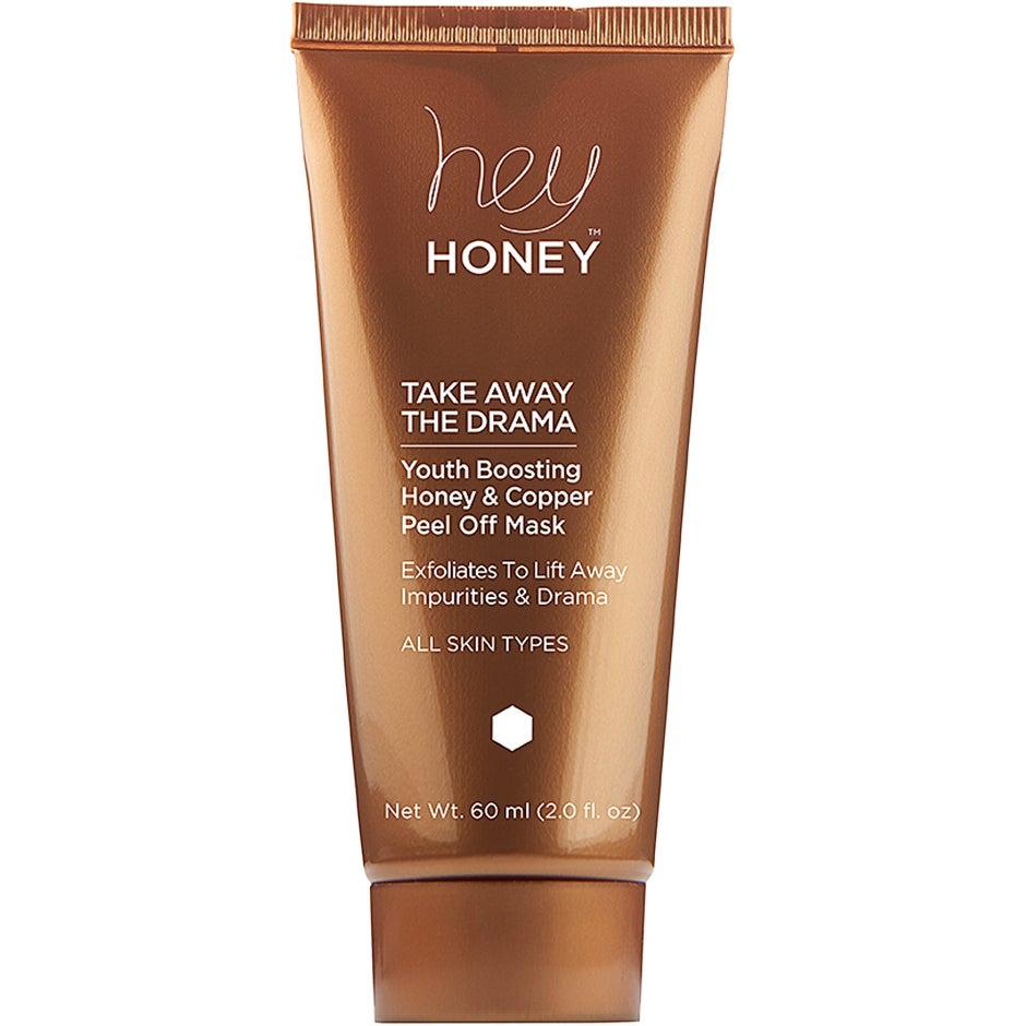 Take Away The Drama, Honey & Copper Peel Off Mask 60 ml Hey Honey Ansiktsmask