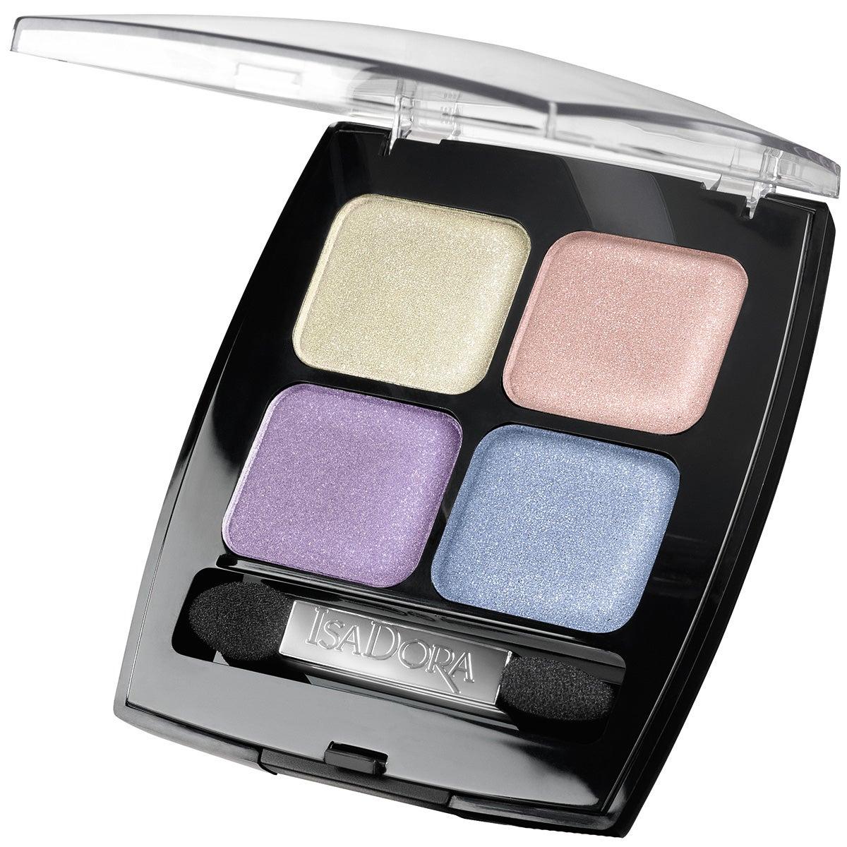 IsaDora Eyeshadow Quartet, 62 Rainbow Pearls 6,2 g IsaDora Ögonskugga