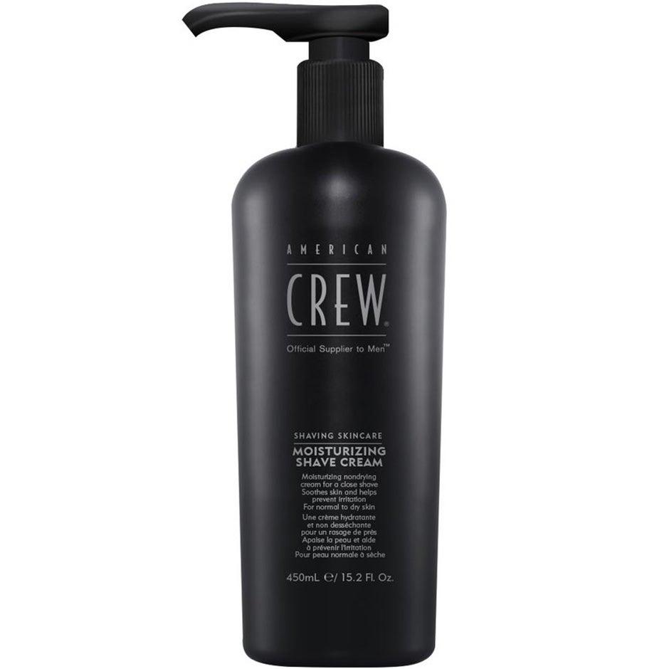 American Crew Shaving Skincare Moisturizing Shave Cream, Moisturizing Shave Cream 450 ml American Crew Rakgel