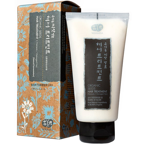 Whamisa Organic Seeds Hair Treatment, 300 ml Whamisa Skincare Hårinpackning