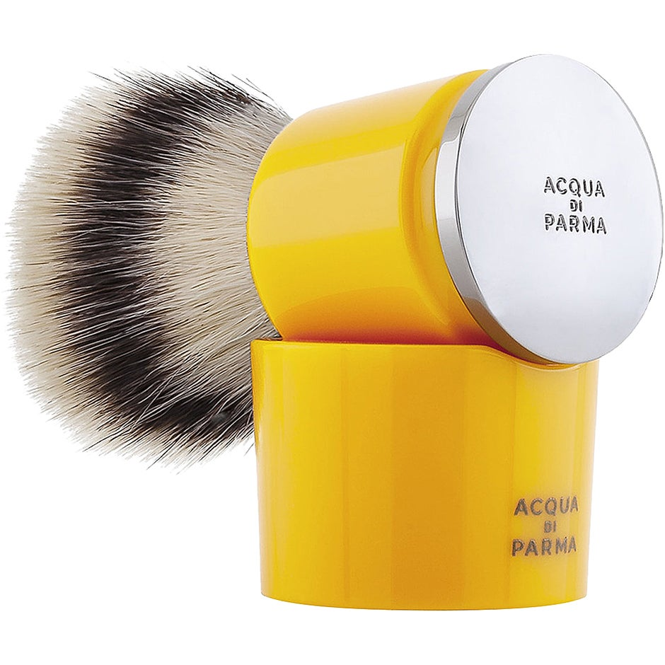 Barbiere, Syntethic Shaving Brush Yellow Acqua Di Parma Rakhyvel & Rakblad