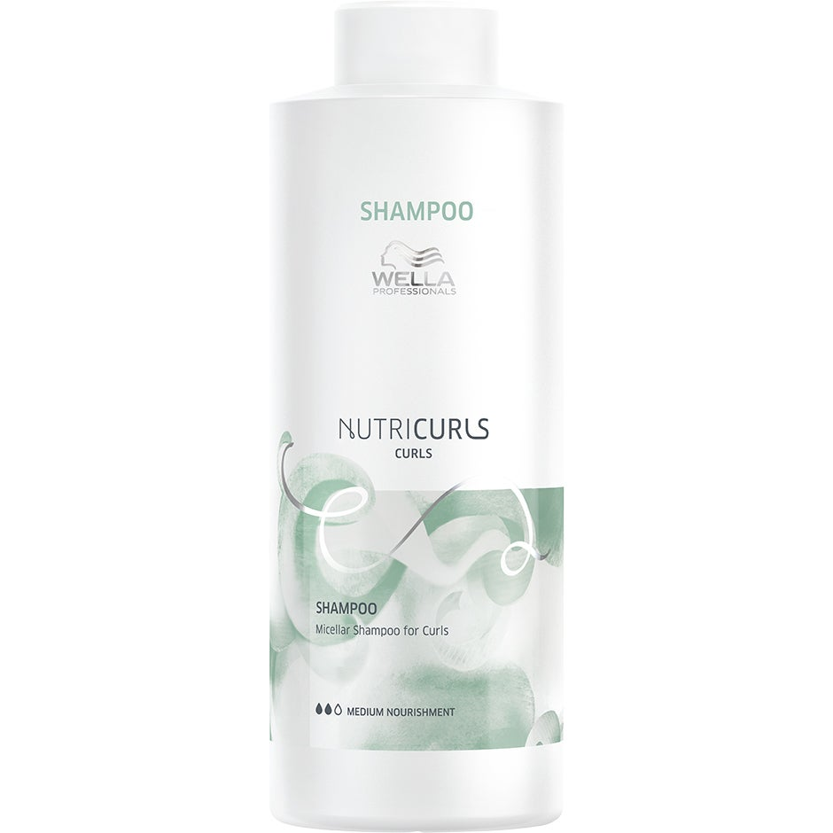 NUTRICURLS, 1000 ml Wella Shampoo